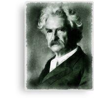 Mark Twain Author Canvas Print