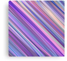Painted Background in Shades of Lilac, Pink and Blue  Canvas Print