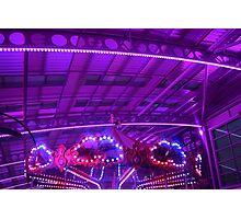 Purple Carousel Photographic Print