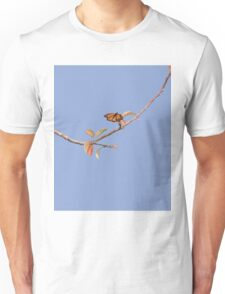 Apple Branch and a Pollinator in Serenity Unisex T-Shirt