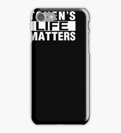 Sou-th Park Token's Life Matters T Shirt iPhone Case/Skin