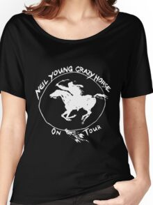 NEIL YOUNG WAHING 2 Women's Relaxed Fit T-Shirt