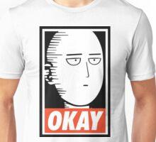 saitama_okay_one_man Unisex T-Shirt