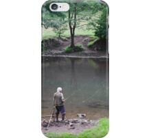Fly Fishing at Upperdale iPhone Case/Skin