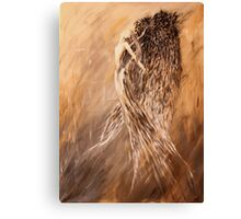 Abstract Angel Canvas Print
