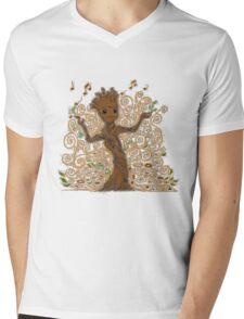 groot kid Mens V-Neck T-Shirt