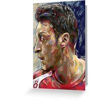 Mesut Ozil - Pass Master Greeting Card