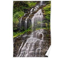 Cascading Cathedral Falls Poster
