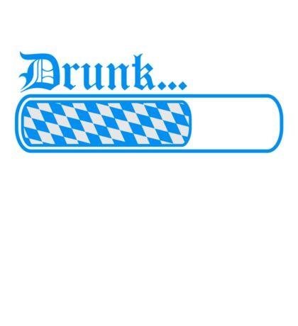 team crew loading balken bayern drunk betrunken betrinken saufen durst logo bier krug saufen trinken party feiern spaß trinken alkohol symbol cool shirt oktoberfest  Sticker