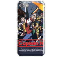 Captain N Poster iPhone Case/Skin