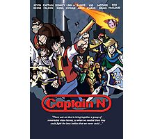 Captain N Poster Photographic Print