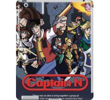 Captain N Poster iPad Case/Skin