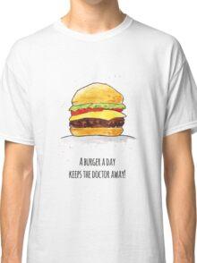 A Burger a Day |Katz & Tinte Classic T-Shirt