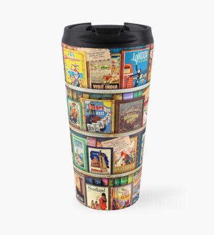 Travel Guide Book Shelf Travel Mug