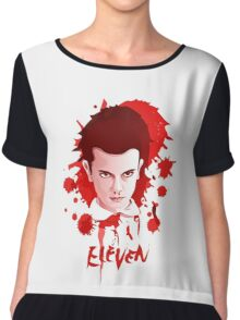 BLOODY ELEVEN - Stranger Things Chiffon Top