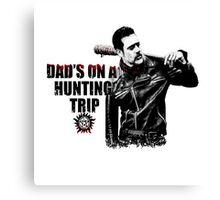 The Walking Dead - Negan/Supernatural Canvas Print