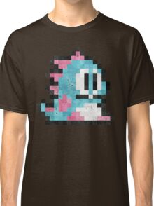 Bubble Bobble Blue Dragon  Classic T-Shirt