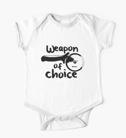 Weapons of choice - Pizza - Black Kids Clothes