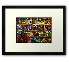 The Fantastic Voyage Framed Print