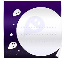 New ghost edition : Cute little kids Ghost beeings Poster