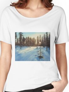 Freezing Forest Women's Relaxed Fit T-Shirt