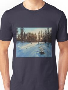 Freezing Forest Unisex T-Shirt
