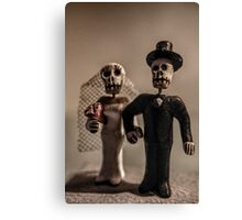 Day of the Dead Wedding #1 Canvas Print