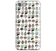 Russian Dolls, Owls and Trees iPhone Case/Skin