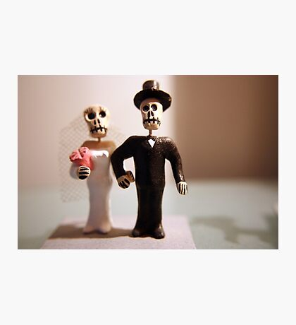 Day of the Dead Wedding #2 Photographic Print