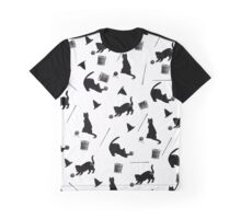 Cats and Bobbins and Pins, Oh My! Graphic T-Shirt