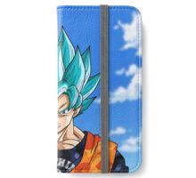 Super Saiyan Blue BAPE God Goku - Silver Grill iPhone Wallet/Case/Skin