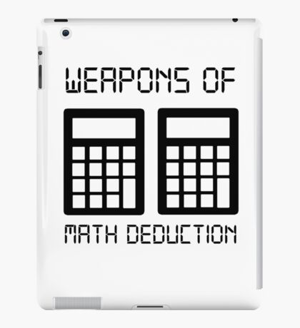 Math deduction iPad Case/Skin