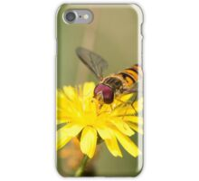 Hoverfly on Daisy iPhone Case/Skin
