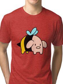 Bumblebee Pig Tri-blend T-Shirt