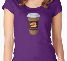 Gilmore Girls - Lukes Diner - Coffee Cup - Coffee Coffee Coffee Women's Fitted Scoop T-Shirt