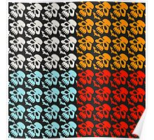 Colorful Skulls Poster