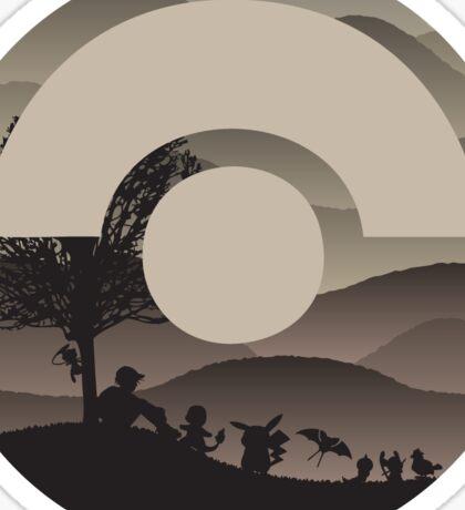 Exiting Mt. Moon Sticker