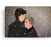 In the snow Canvas Print