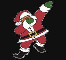 Dab Black Santa Kids Tee