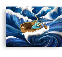 Tammy and the Whirlpool Canvas Print