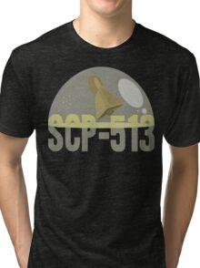 """SCP-513 """"A Cowbell"""" Tri-blend T-Shirt"""