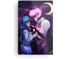 Mystery Skulls - Lewis and Vivi - When I'm With You Metal Print