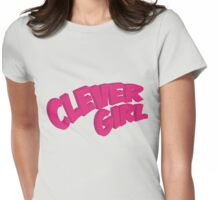 Clever Girl - superhero Womens Fitted T-Shirt