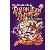 Pork butts and taters Photographic Print