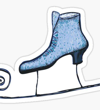 Skates Sticker