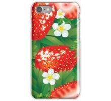 Strawberry seamless iPhone Case/Skin