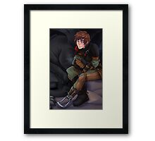 Hiccup and Toothless - How to Train Your Dragon 2 Framed Print