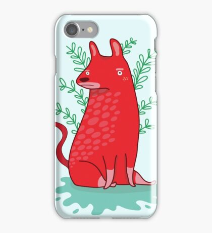 Big red Dog iPhone Case/Skin