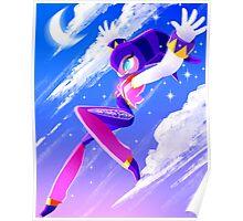 NiGHT sky (moon) Poster