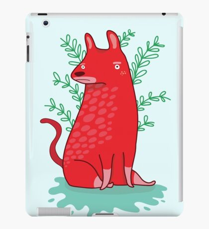 Big red Dog iPad Case/Skin
